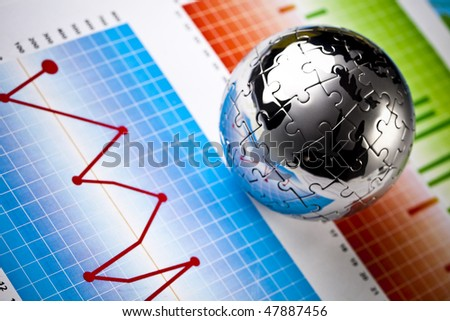 Balancing the Accounts - stock photo