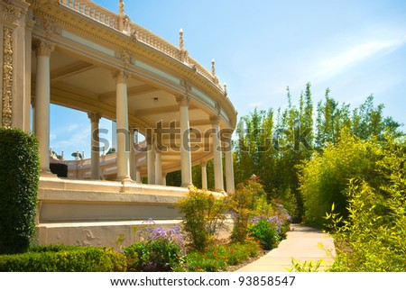 Balboa Park in San Diego, California USA - stock photo
