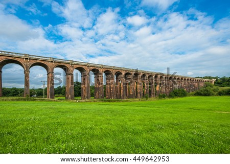 Balcombe Viaduct in Ouse Valley, West Sussex, UK