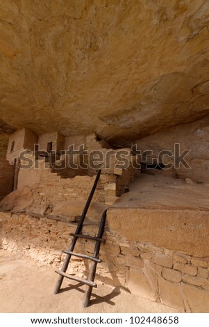 Balcony House, Mesa Verde National Park - stock photo