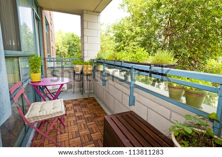 Apartment Balcony Stock Images, Royalty-Free Images & Vectors ...