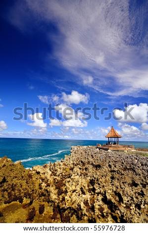 Bali coast - stock photo