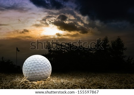 Ball Golf in the Neglected Golf Course