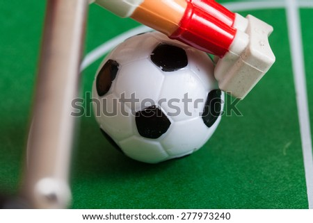 ball in play football table