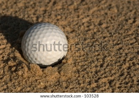 Ball in Sand pit
