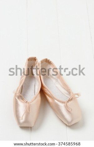 ballerina shoes/pointes