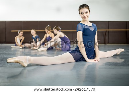 Split dress stock photos images pictures shutterstock for Dance where you sit on the floor