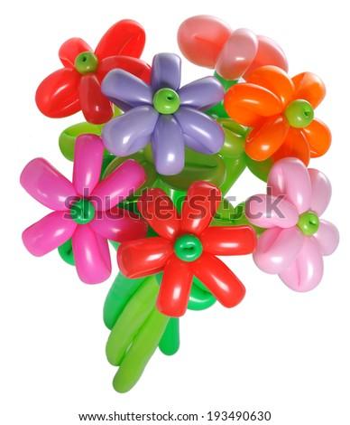 Balloon flower - stock photo