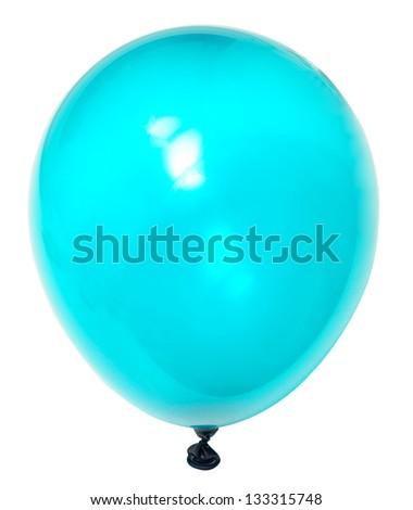 balloon isolated on white background - stock photo