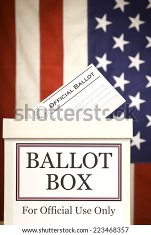 Ballot Box/ Vertical Shot