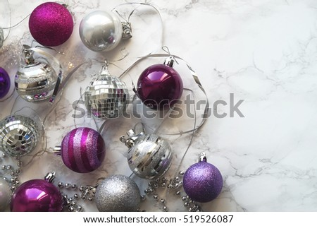 Balls for Christmas tree