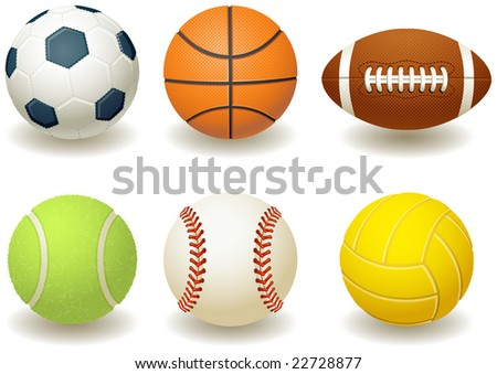 Balls for team sports