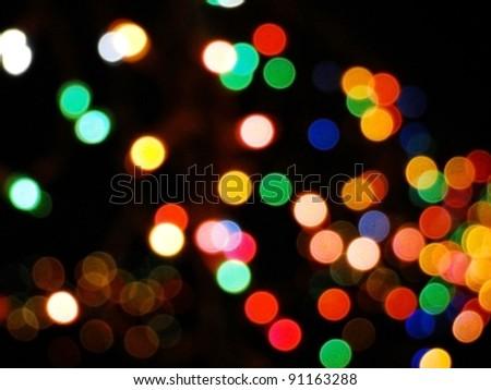 Balls of Light - stock photo