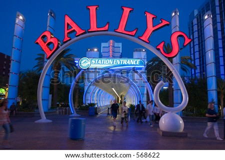 Ballys Resort Las Vegas USA (exclusive at shutterstock) - stock photo