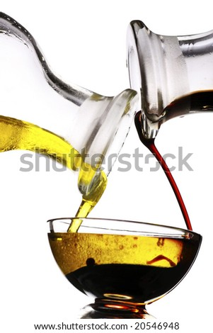 balsamic vinegar and olive oil dressing
