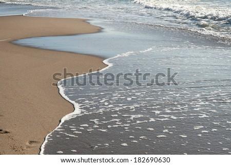 Baltic Sea beach - stock photo