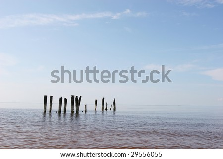 Baltic sea coast (Latvia)