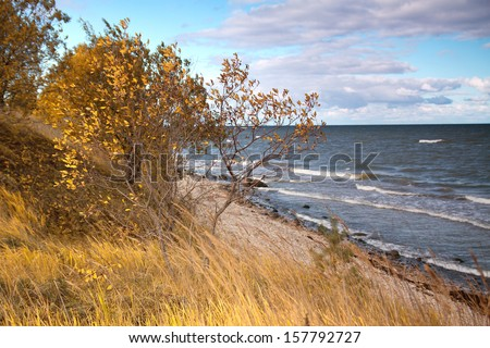 Baltic sea in autumn