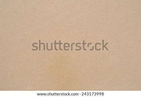 Baltic sea wet sand as a texture. - stock photo