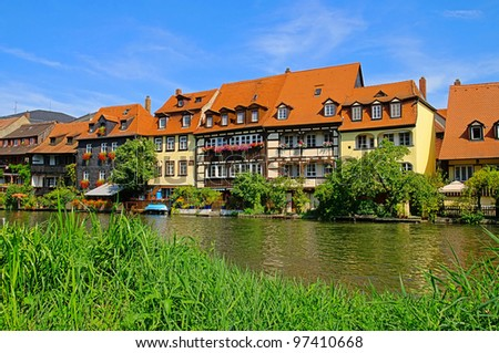 Bamberg Little Venice - stock photo