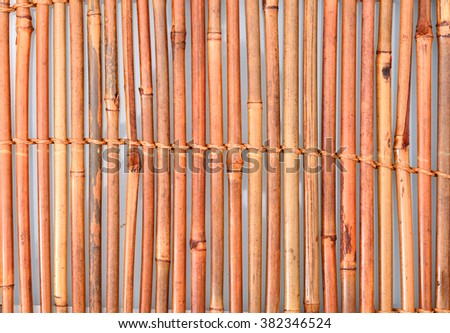 bamboo mat background  - stock photo