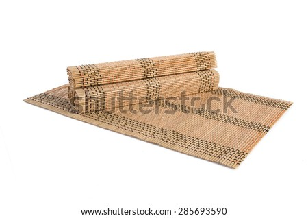 bamboo mat bamboo mat on a background bamboo mat bamboo mat on a