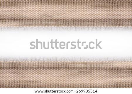 Bamboo mat close up background - stock photo