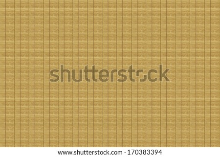 Bamboo mat texture and background