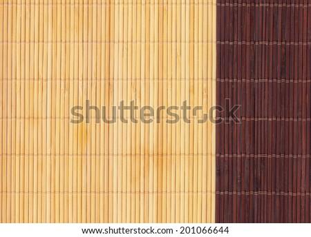 bamboo napkin texture - stock photo