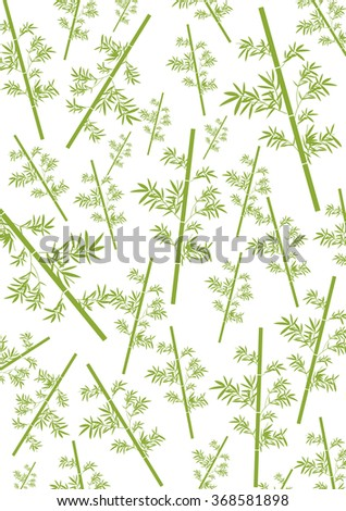 Bamboo Pattern Background - stock photo