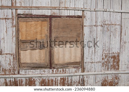 bamboo shutter Flores Indonesia