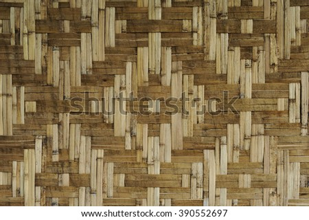 Bamboo straw texture background