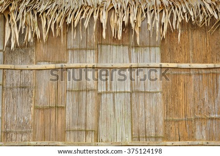 bamboo texture and background - stock photo