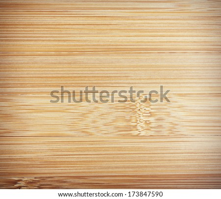 Bamboo texture with vignette - stock photo