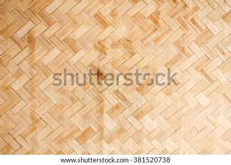 Bamboo Wicker Pattern