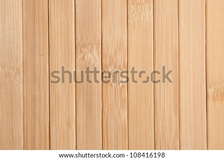 bamboo wood background texture, high-detailed wood texture - stock photo