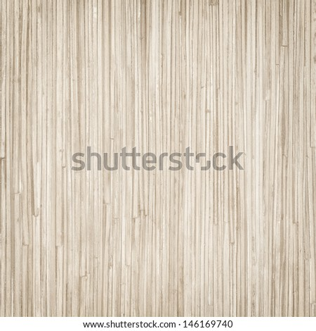 Bamboo wooden background - stock photo