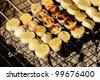 Banana grill , Thai dessert - stock photo