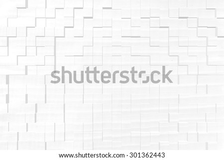 Banana leaf texture background, 3d block style