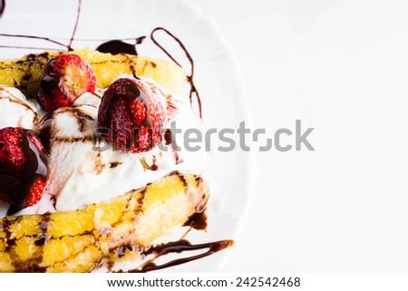 banana splits butterscotch banana splits chocolate banana split butter ...