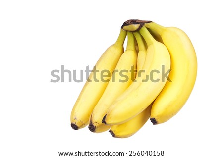 Bananas the anti-stress means - stock photo