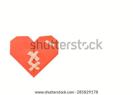 heart scar plaster stock vector 23648716 shutterstock Medical Heart Clip Art Funny Heart Clip Art