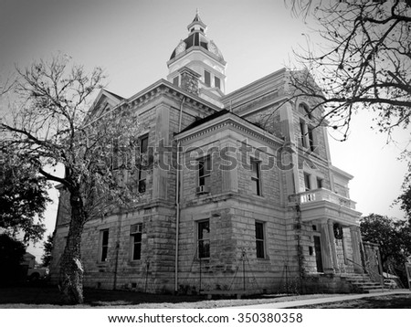 Bandera, Texas Courthouse