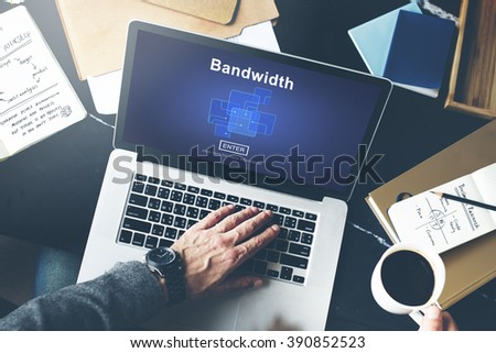 Bandwidth Broadband Connection Data Information Internet Concept Shutterstock