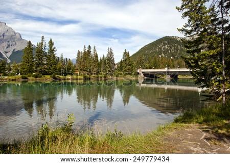 Banff National Park, Alberta, Canada - stock photo
