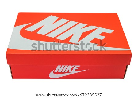 nike shoes logo pictures. bangkok - july 17 : nike logo printed on shoes box 17, 2016 pictures l