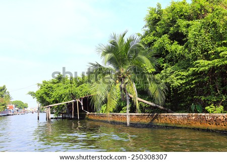 BANGKOK, THAILAND - December 15, 2014: boating on the Chao Phraya River December 15, 2014 in Bangkok, Thailand