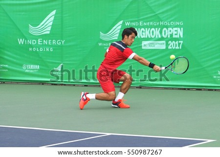 BANGKOK THAILAND -31 December2016-14 January 2017 ATP TOUR WIND ENERGY HOLIDING Bangkok Open 2017