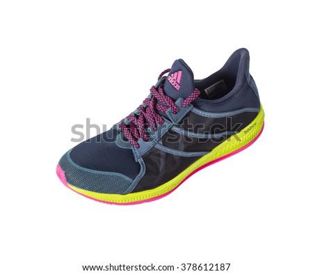 Black White Neon Green Adidas Walking Shoes