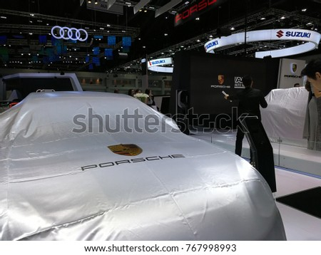 BANGKOK - THAILAND, November 29,2017 : Motor expo 2017, The biggest motor exhibition show in Thailand at Impact exhibition and convention center at Muangthongthani in Bangkok Thailand.